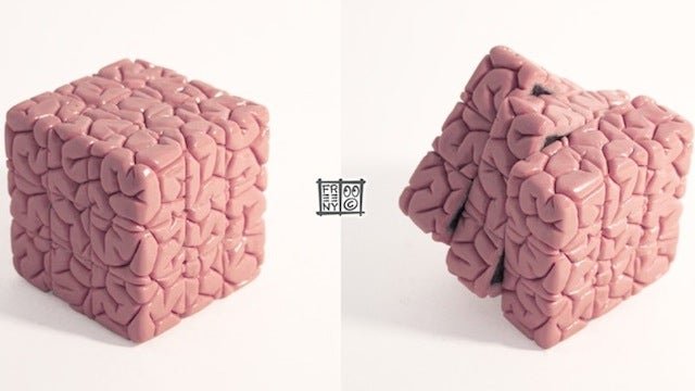 A Rubik's Cube for Brainiacs