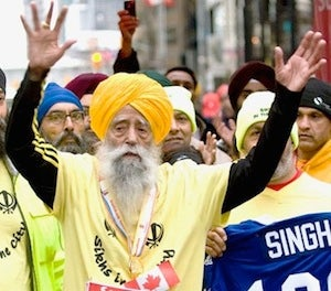 Old Guy Who Finished Marathon Is Too Old To Prove How Old He Is