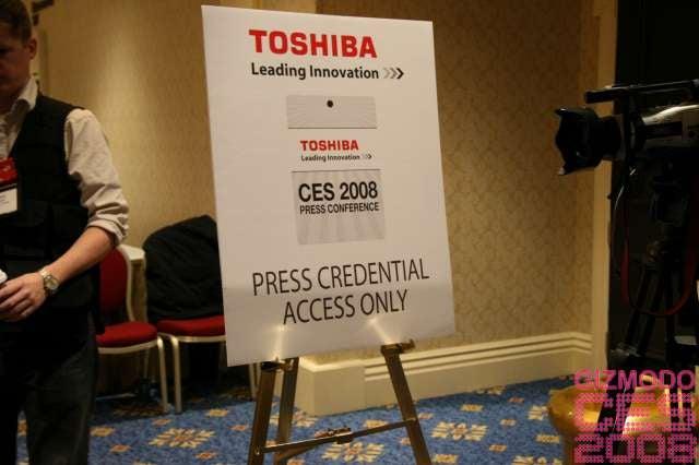 Toshiba Press Conference Liveblog