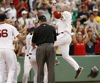 SuperYid Youkilis Drubs The Hardly Punchless RedBirds