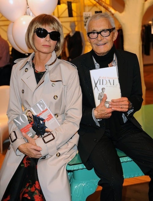 Vidal Sassoon Cozies Up With Anna Wintour's Hair Apparent