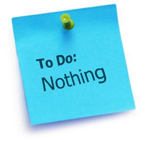 In Defense of Procrastination: When to Prioritize Doing Nothing