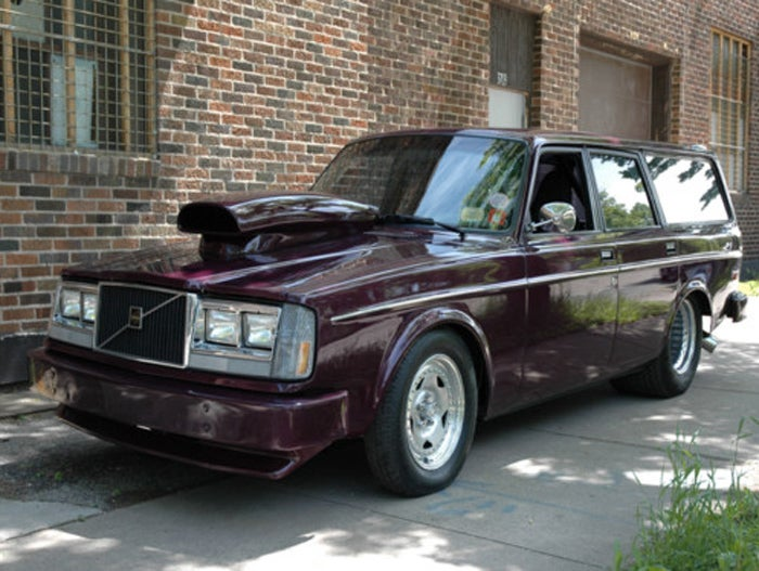 """Pro Street"" Volvo Wagon is One of a Kind"