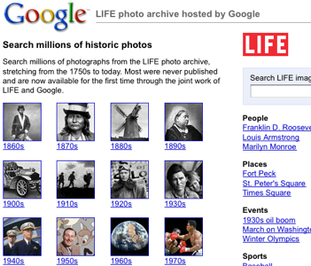 Google Hosts 10 Million Historic Time-Life Photos