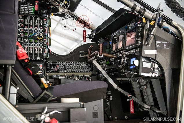 The Cockpit of Solar Impulse Is Not For the Faint-Hearted