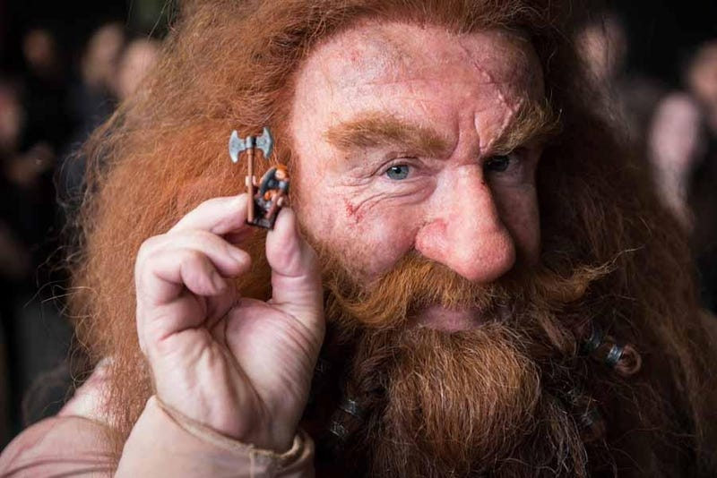 The Real Hobbit (and Dwarves) Meet Their LEGO Counterparts