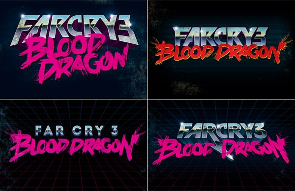 """The Man Behind Blood Dragon's 80s-Drenched """"Box Art"""""""
