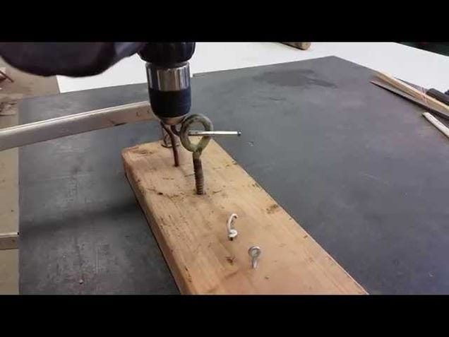 Install Hooks the Easy Way with Your Drill