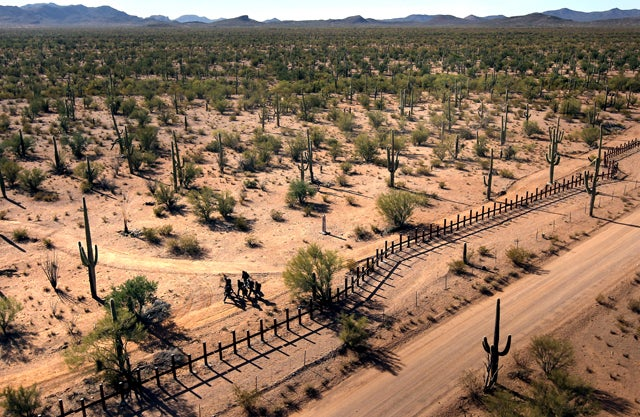Arizona Officially Starts Begging for Border Fence Money