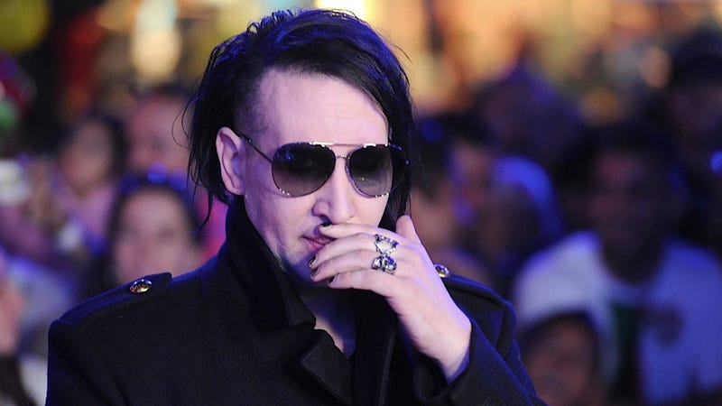 Marilyn Manson's Paparazzi-Thwarting Plan Was Probably Way Better in Theory