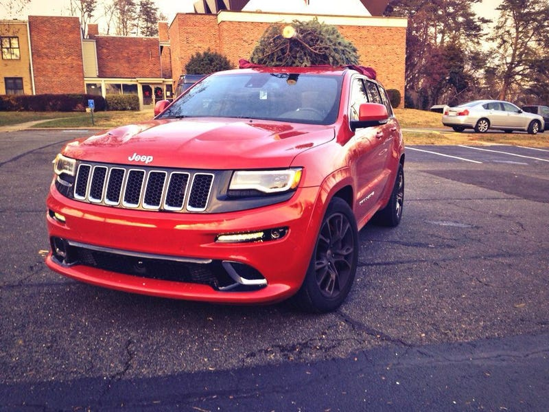 Features That Frustrate: 2014 Jeep SRT's Tilt Mirrors