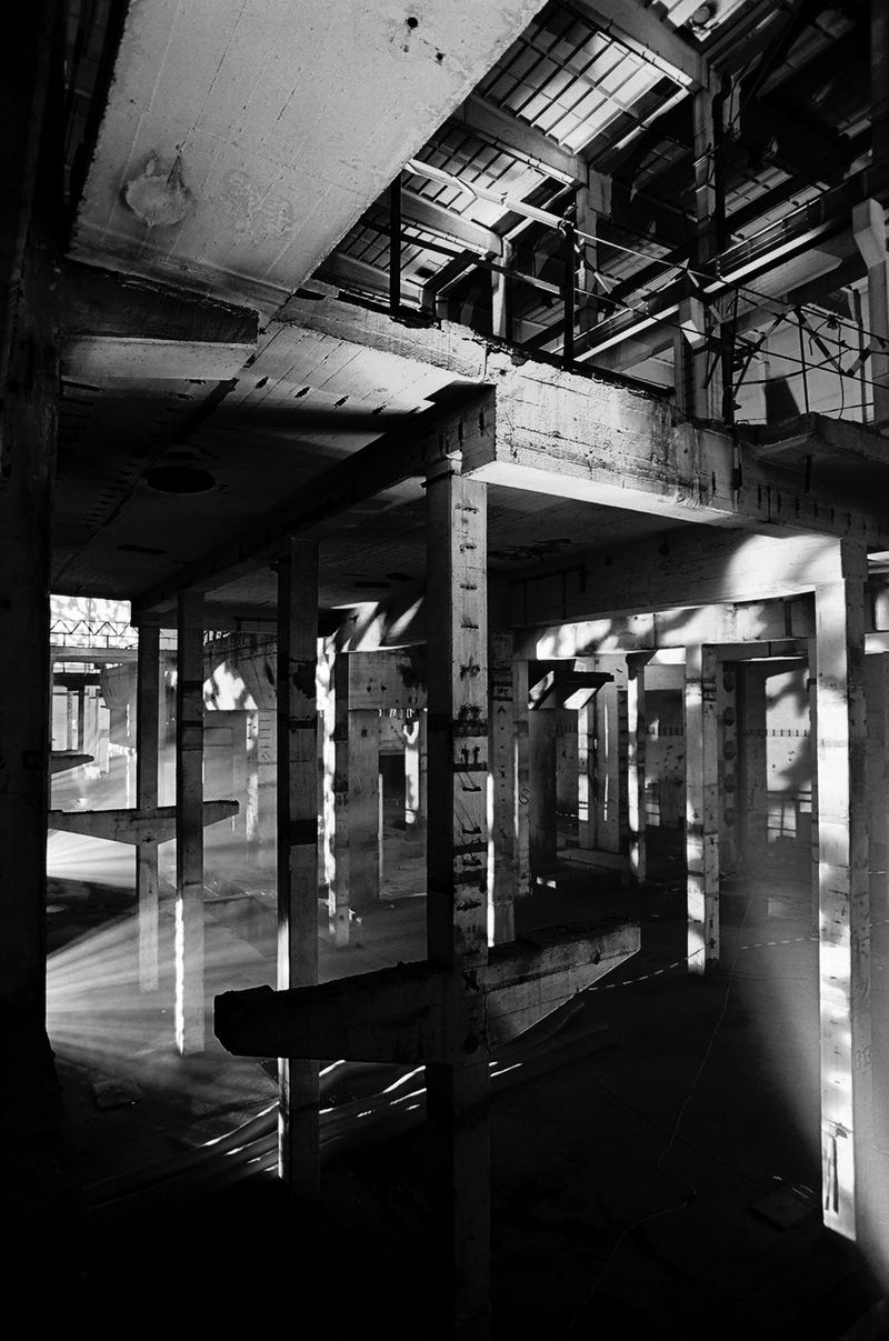 Modem Berlin is an Art/Music Space in an Abandoned Cold War Power Plant