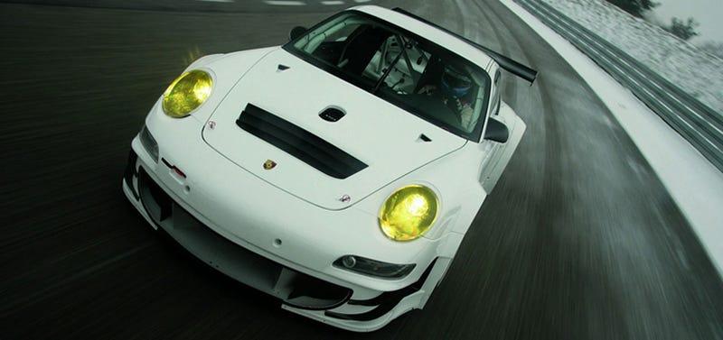 2009 Porsche 911 GT3 RSR: More Track Power, Bigger Price Tag