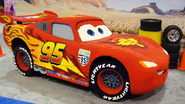 Ten amazingly realistic cars made out of Legos