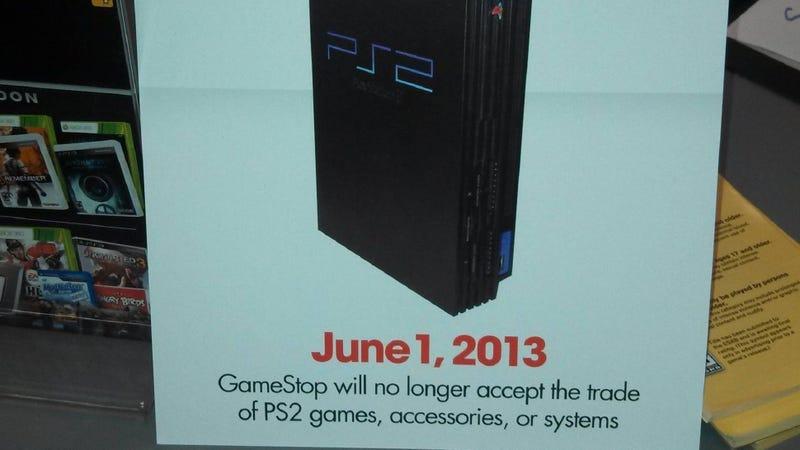 Rumor: GameStop Stops PS2 Trade-Ins in June