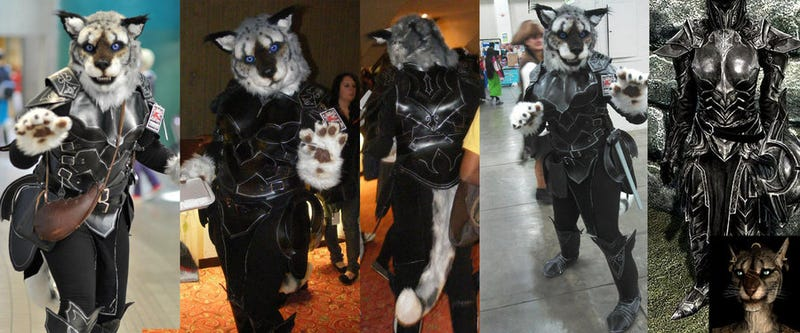 When Skyrim Meets Furries, Emotions Are Mixed