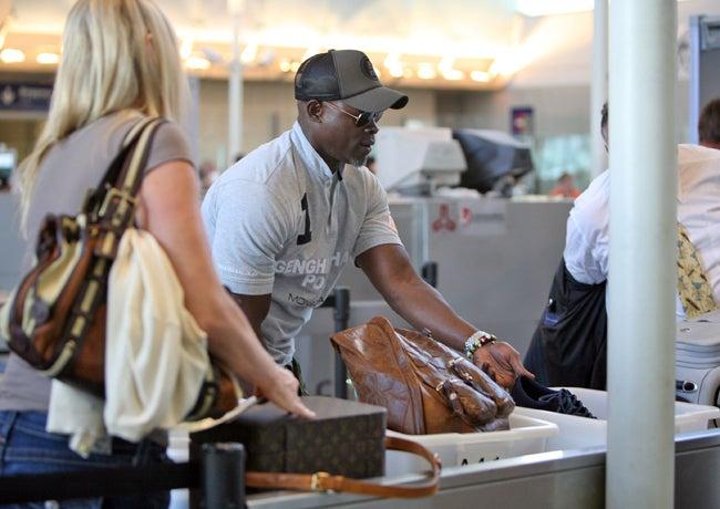 Djimon Hounsou Flies Solo
