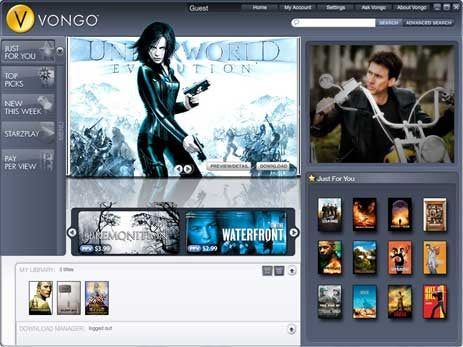 Starz' Vongo v2.0 Supports New PMPs and Media Center Extenders
