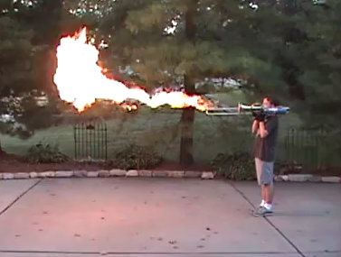 A Flamethrower Trombone That Can Really Fire Balls of Fire