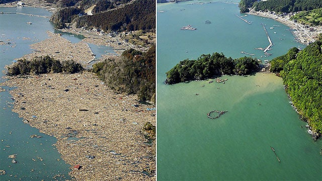 Gallery Before and After Japan Begins Its Tsunami Cleanup