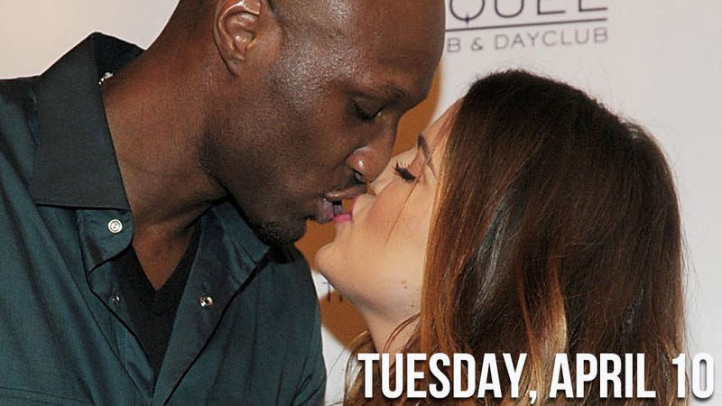 There's Trouble in Khloe and Lamar's Paradise