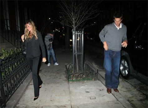 Tom Brady And Gisele Bundchen: Together, Apart