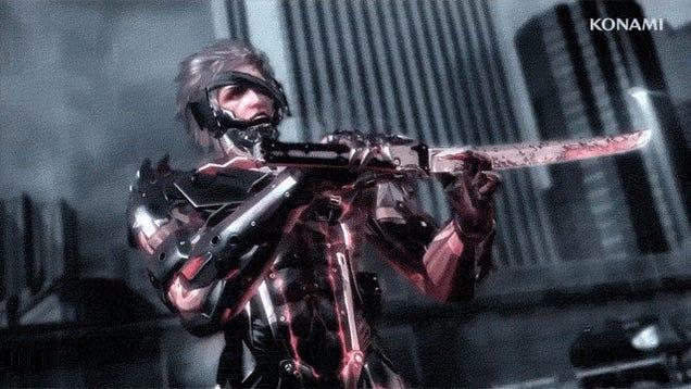 6 GIFS of Raiden Looking Cool in Metal Gear Rising: Revengeance