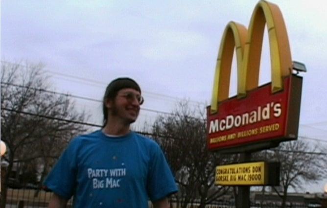 America's Saddest Man Eats 25,000th Big Mac Today