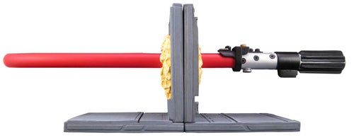 Lightsaber Bookends Re-balance the Force