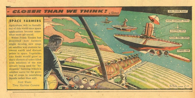 These Space Farmers of 1959 Were Way Ahead of Their Time