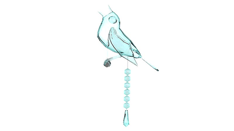 Bird Poop Chandelier Is Not for the Faint of Heart