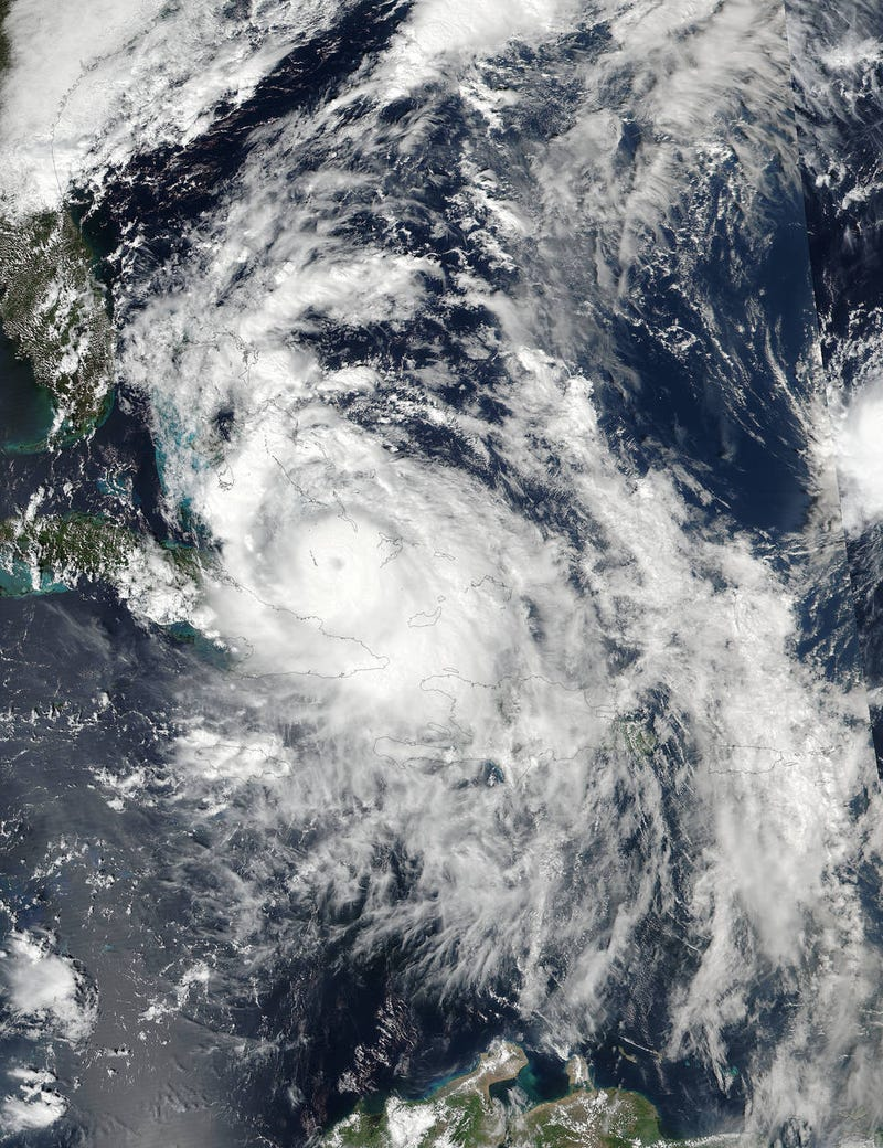 Stunning Images Show the Evolution of Monstrous Hurricane Matthew From Space