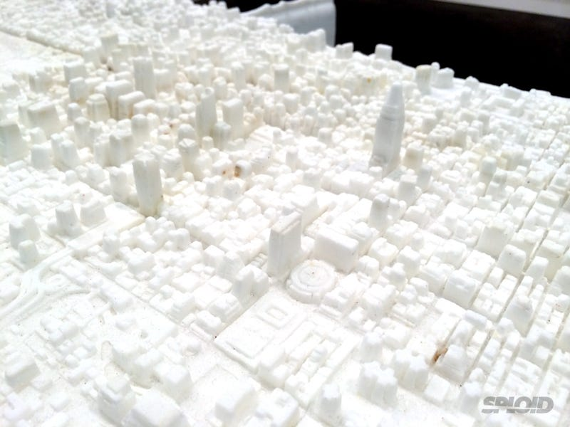 This 9-foot-long Manhattan model carved in marble is so damn awesome