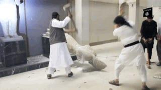 Több ezer éves szobrokat vertek szét az ISIS vadállatai