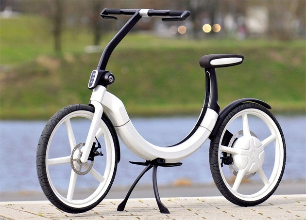 VW's Folding Bik.e: Because Two Spare Tires Are Better Than One