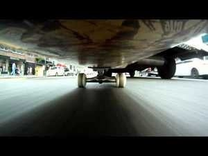 What NYC Looks Like from the Belly of a Skateboard