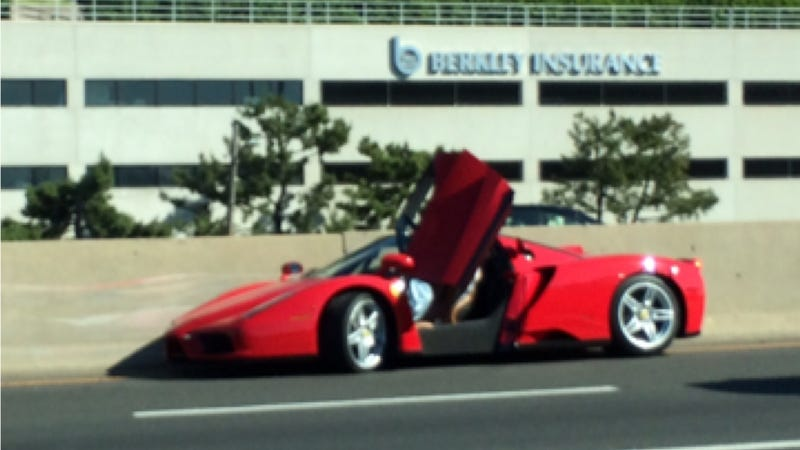 NOOOOOOOO! Someone Just Crashed A Ferrari Enzo In Connecticut