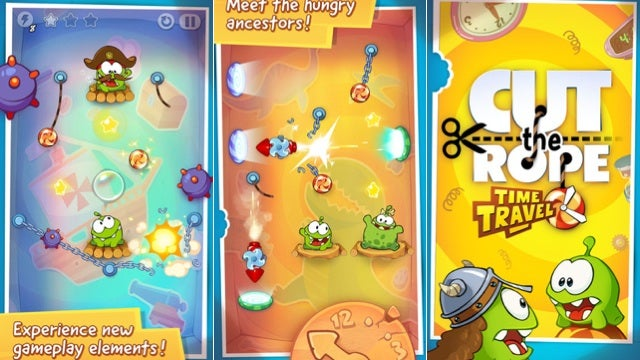 Flowboard, Cut the Rope: Time Travel, and More
