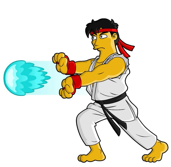 Street Fighter vs The Simpsons