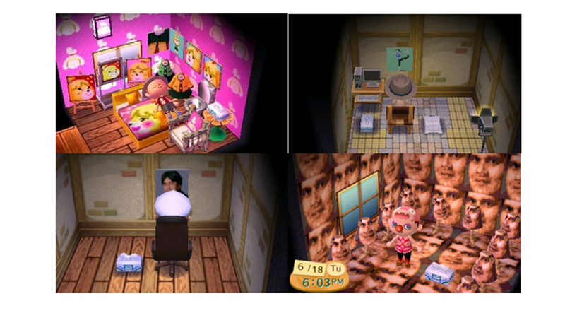 Animal Crossing's Creepy Nintendo Jerk Chambers