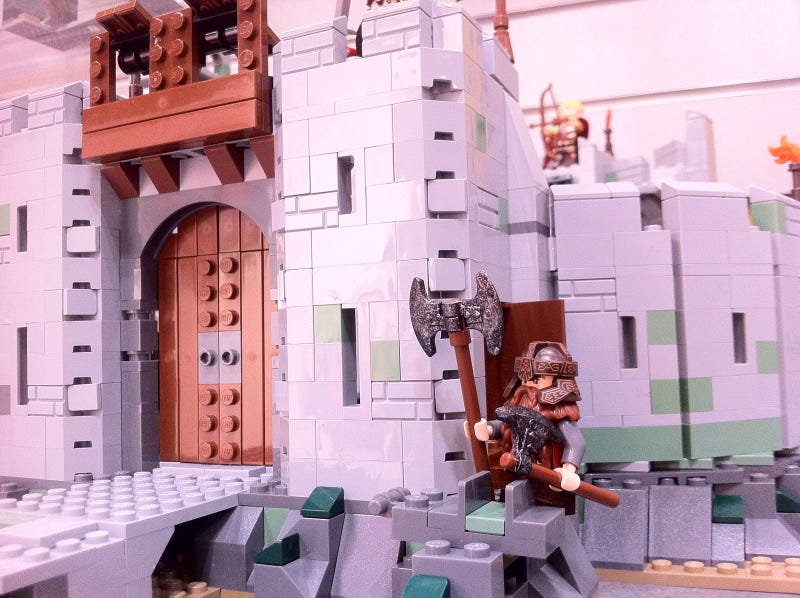 Exclusive Videos of the New Lego Lord of the Rings Sets