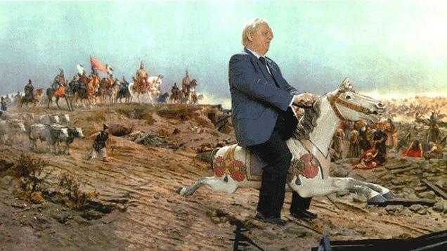 Tarlós István ma fehér lovon vonult be a magyar történelembe