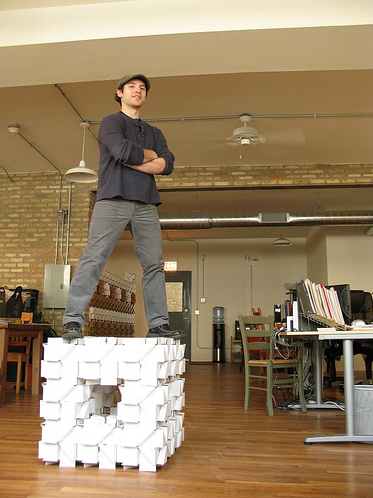 Bloxes: Lego-Like Cardboard Tech For the Office
