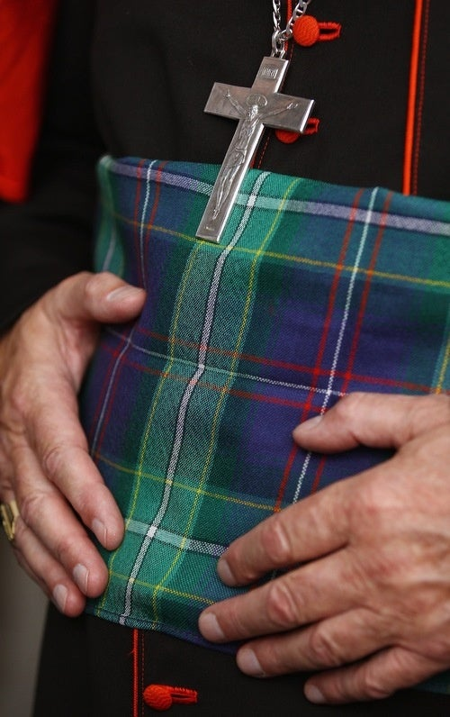 Scots Create Special Plaid for Pope's Visit
