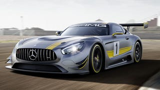 The Mercedes-AMG GT3 Goes Old School On Your Ass With A 6.3-Liter V8