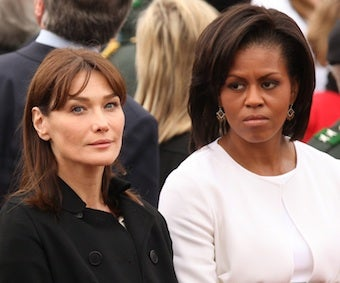 "Michelle Obama To Carla Bruni: ""It's Hell"" Being First Lady (Updated)"