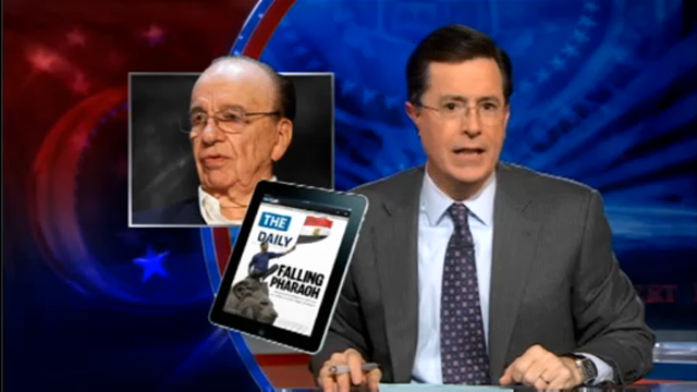 Watch Stephen Colbert Smack Down The Daily
