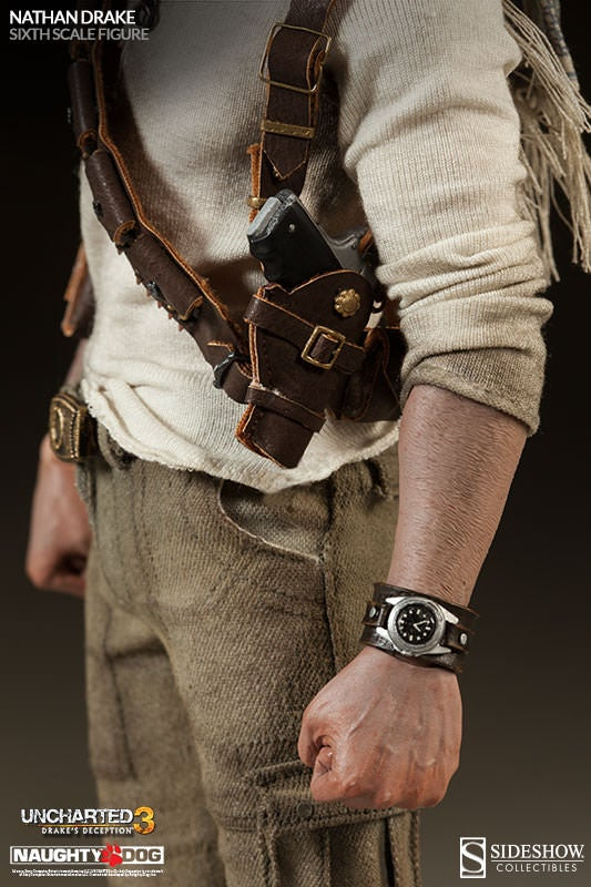 Nathan Drake Action Figure Replicates Half-Tucked Shirt Perfectly