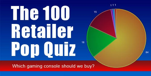 The 100 Retailer Pop Quiz - What Gaming Console Should We Buy?