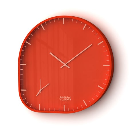 Two Timer Clock Does Dual Time Zones, Handy for Away-From-Home Bloggers